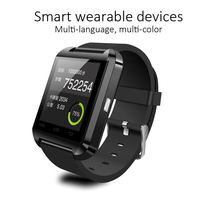Cheap bluetooth watch for iPhone, TFT lcd u8 smart watch, touch screen watch mobile phone