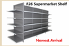 Double-sided Feature and Supermarket Rack Type intelligent mass shelf with CE and RoHS approved