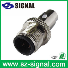 Top level magnetic female brass connector