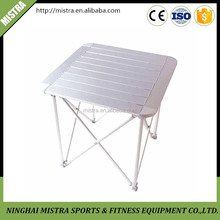 Multi-Purpose portable folding table for camping ,picnic ,beach,garden ,light weight aluminum foldable table FT-006