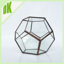 For wedding Home Decor Dikina crafts wholesale handmade bubble crystal glass chinese candle holder