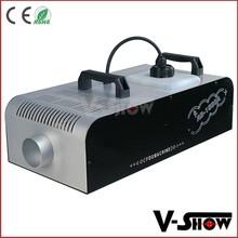 Small 1500w led dj disco fog smoke machines for stage show