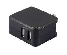 double usb travel charge quickly charger for Samsung iPhone smart phone