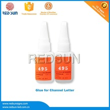Thermally conductive ab glue for led light box