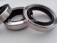 lip rotary shaft seals, stainless steel lip seals