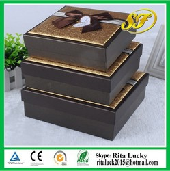 Hot sale! High quality custom made wedding gift box & christmas gift boxes