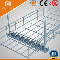 UL CE SGS approved electro galvanized wire basket cable tray