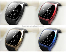 2014 new arrival 1.4inch touch screen female&male smart watch