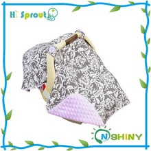 Nice Design and Wind Prevent Infant Carseat Canopy