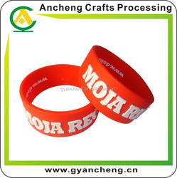 fashional silicone wristband sedex audit manufacturer for corporate gifts