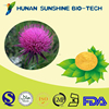 wholesale alibaba 100% natural Herbal Extract / Milk Thistle Extract Powder for anti radiation & clearing liver heat function