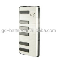 The piano 5000 mAh Power Bank factory,Portable Power banks,Mobile power banks for Samsung S6,iPhone ect... smartphones