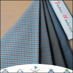 Wholesale new casual fashion style high end business tr men's material suit fabrics 9970