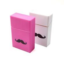 Custom Logo Printing Silicone Cigarette Pack Case 20pcs