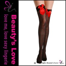 Designer Special Magic Sexy Women Knee-high Compression Stocking with Red Heart