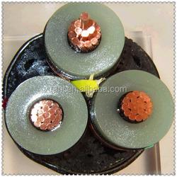 Semi-conducting compound + copper tape metallic screen 110KV High Voltage Power Cable XLPE