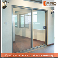 Fashion design materials used sliding glass door sale sliding stacking doors