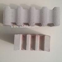 85% alumina heat resistant refractory ceramic anchor Brick