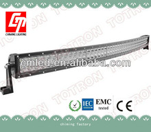 portable offroad 288W curved led light bar from cn360 cree