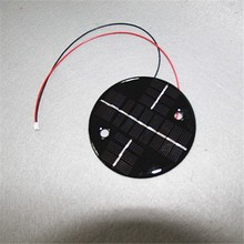Custom made 7.5V 0.5W small size mono silicon solar cell panel