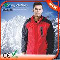 Hj08 7.4v aquecidos vestuário esportivo vento jaqueta mens vestuário
