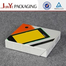 Colorful designed cellophane window creative cell phone packaging gift boxes