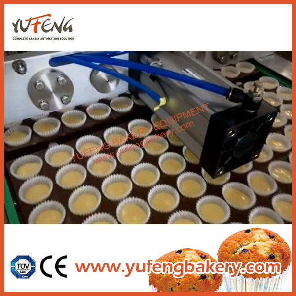 Automatic cupcake filling ,dough filling machine and cup filling 2 in 1 machine