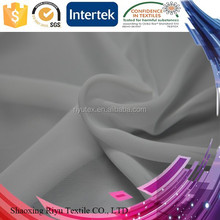 China hot fabrics polyester 75D silk chiffon fabric price for Fashion womenswear