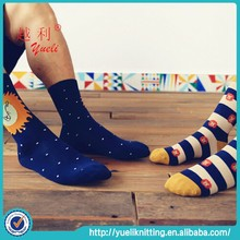 2015 Newest animal sexy young boy and girl 100% cotton tube socks
