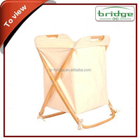 2014 New Style handmade bamboo storage laundry bag
