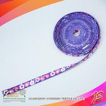 Rich pattern custom printed elastic bands / printed elastic waistband / printed elastic