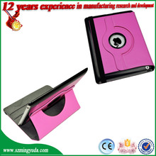 For Ipad 2/3/4 PU Leather 360 degree Case Universal Flip Leather Cases Factory Wholesale