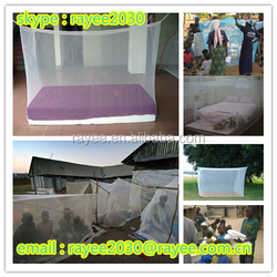 exporting to Africa 100% polyester long lasting insecticide treated mosquito net, mosquiteros moustiquaires