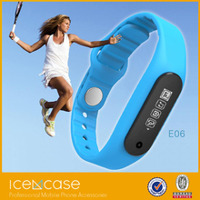 2015 Promotional Cheaper than Xiaomi Mi band E06 Smart band, Pedometers Fitness Activity Tracker with App