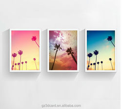 2015 best seller new plastic 3D lenticular picture for home decoration