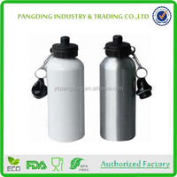 Good Quality 600ml Metal Travelling Drinking Aluminum Sport Bottle With Cap