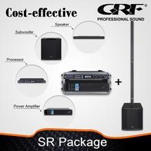 """18""""Subwoofer Speaker +Amplifier+Processor Professional Sound System"""