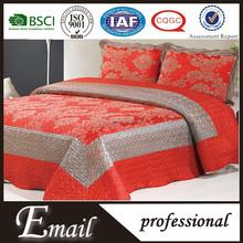 Indian shiny brocade silk satin mirror bedspread/bedspreads