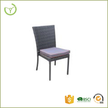 factory cheap armless wicker rattan stacking koboo chair