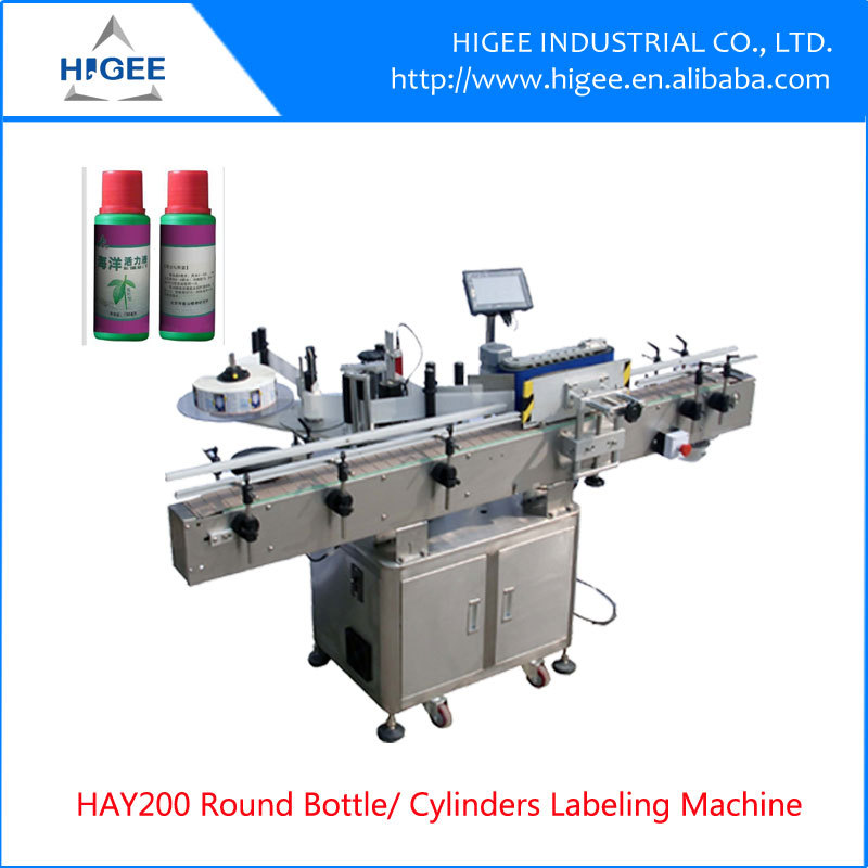 High accuracy round bottle labeling machine for sale beer for Beer label machine