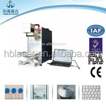 10W Portable laser marking machine for text date logo printing