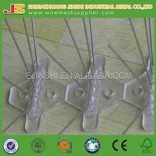 four row Spikes factory metal bird control stainless steel anti bird spikes bird spike wire price per piece