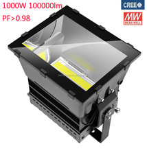 new design meanwell driver Creechip 5years warranty 1000w led tunnel light