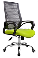 low price ! high quality Office furniture PP back mesh seat racing chair