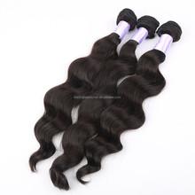 Wholesale price 100% unprocessed Brazilian virgin hair weft
