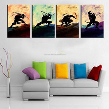 Hand Painted Modern Abstract Cartoon Oil Painting Wall Paintings