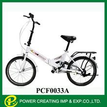 Multi colours child wholesale folding exercise bike folding bike disc brake