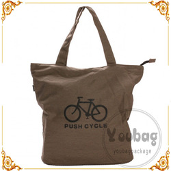 Hot selling high quality fashion canvas bag with gold stamping LOGO