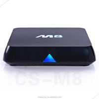 Free shipping android tv box m8 /ott tv box Kit 4K