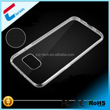 Crystal Clear Transparent Soft 0.3mm TPU Case For Samsung galaxy S6 Silicon Skin Cover s6
